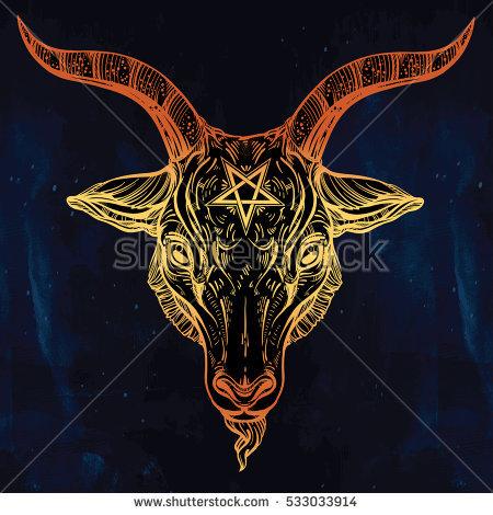 Satanic symbol Tattoos