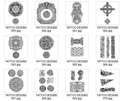 Tribal tattoo's