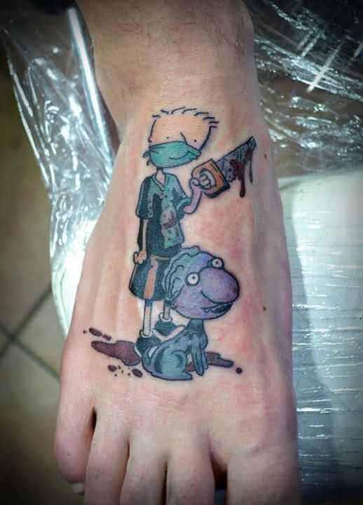 Tattoo Doug Comic Tattoo