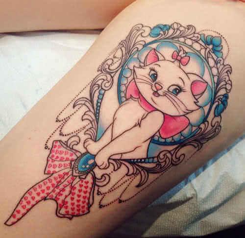 Tattoo Disney Aristocat Bein Tattoo