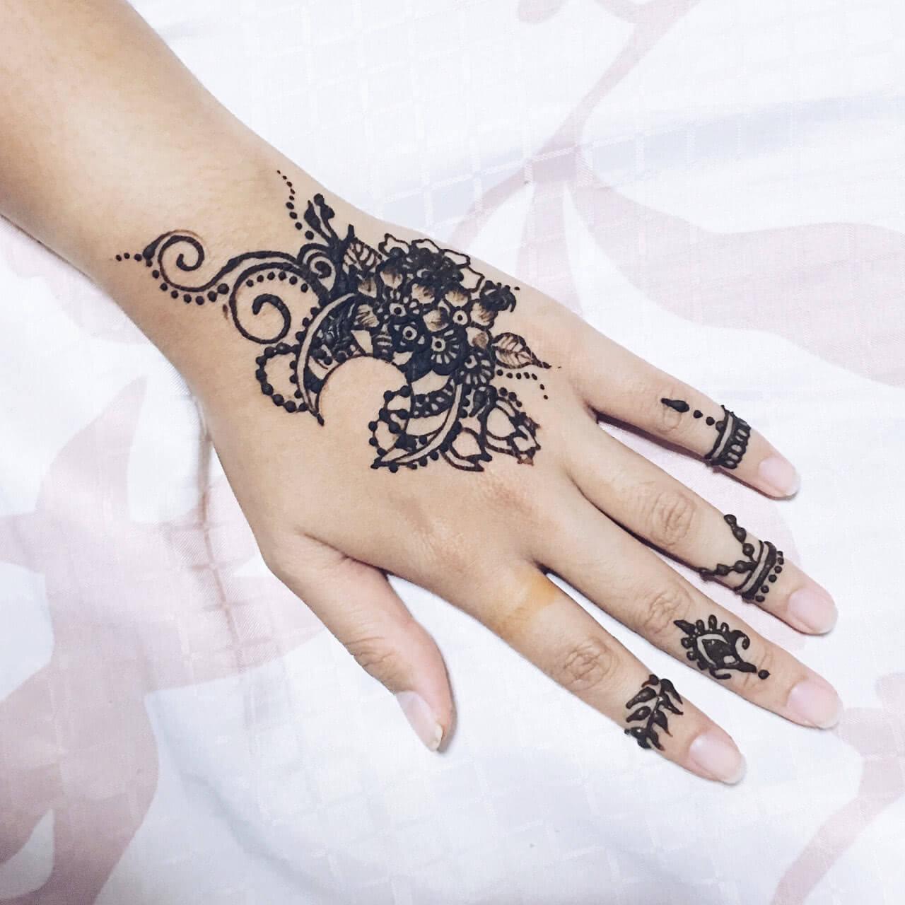 Tattoo Henna Muster