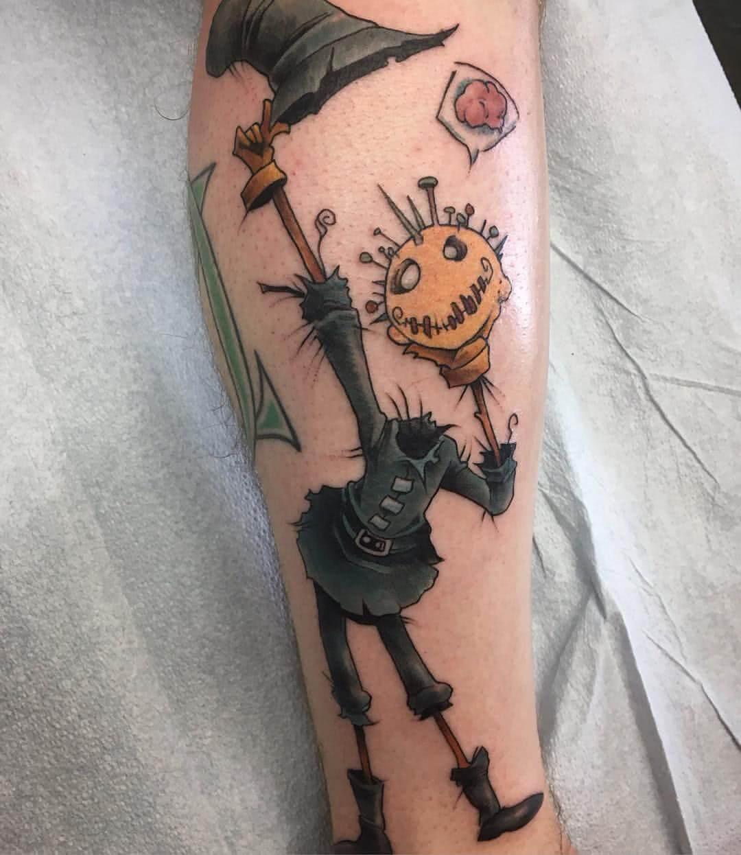 Tattoo Scarecrow Vogelscheuche