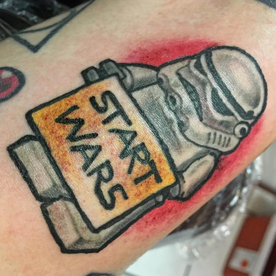 Tattoo Start Wars Sturmtruppler