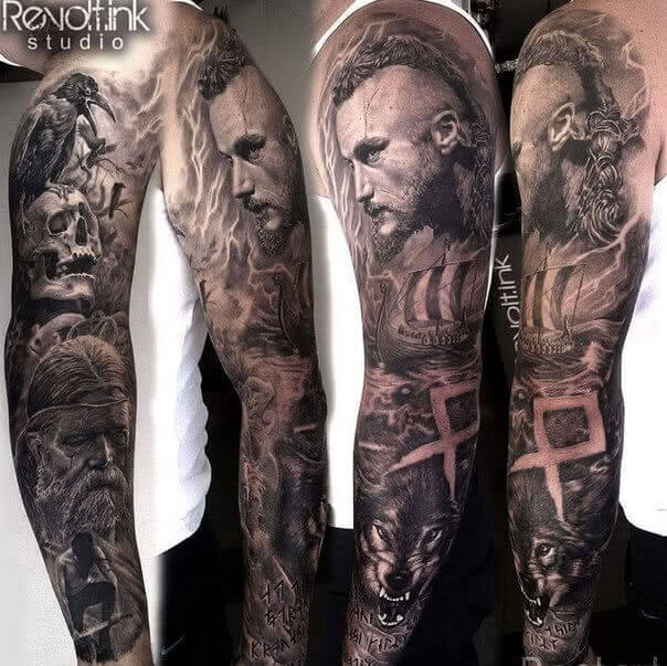 Tattoo Vikings Wikinger