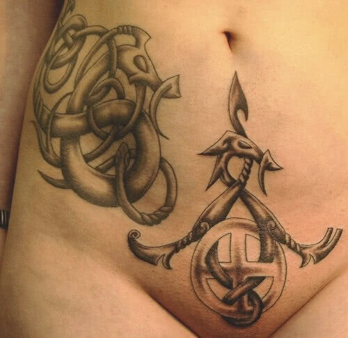 Tattoo Wikinger Symbole
