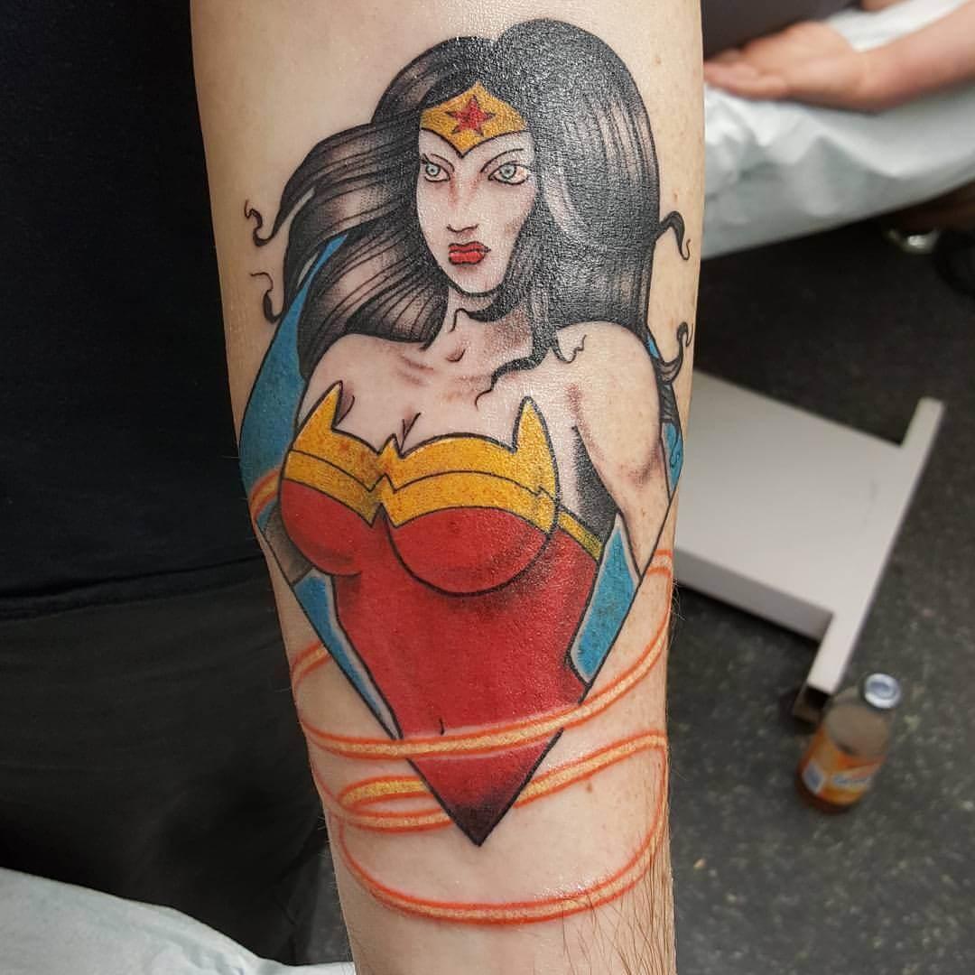 Tattoo Wonder Woman