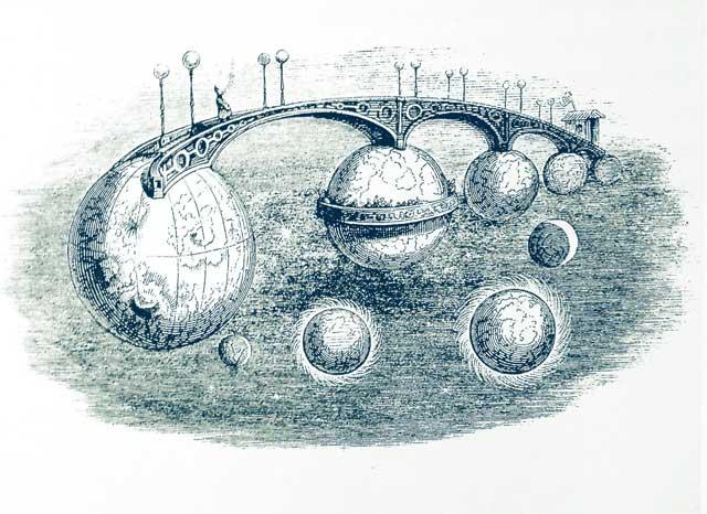 Grandville: le pont des planetes