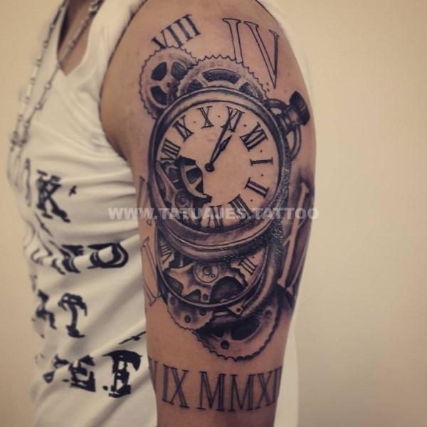Tattoo Reloj De Flores Imgurl