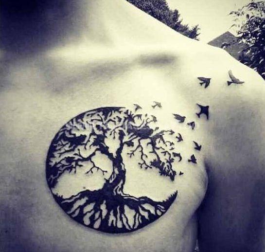 50 ideas de  Tatuajes de rbol de la Vida   Foto y