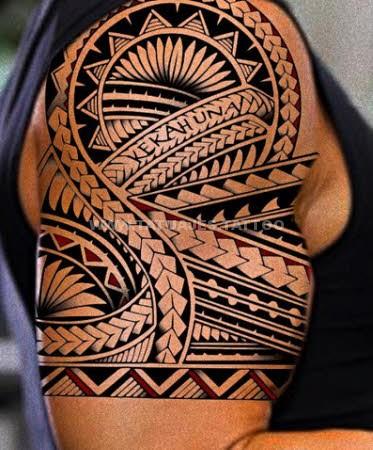 Tatuajes Samoanos En La Pierna