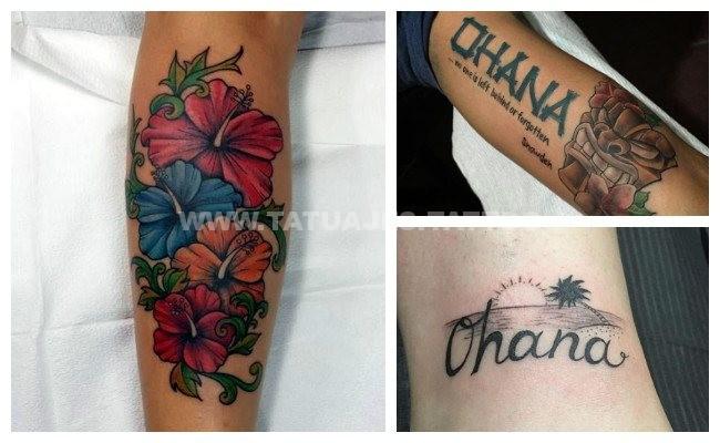 50 Ideas De Tatuajes De Ohana Foto Y Significado Tattoos