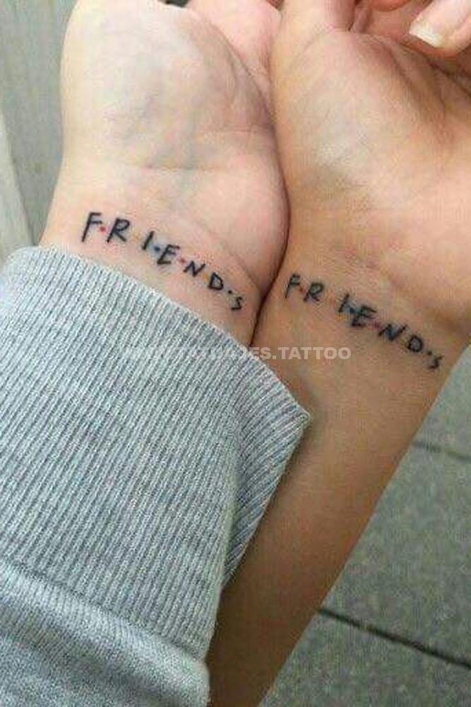 50 Ideas De Tatuajes De Amigos Foto Y Significado Tattoos