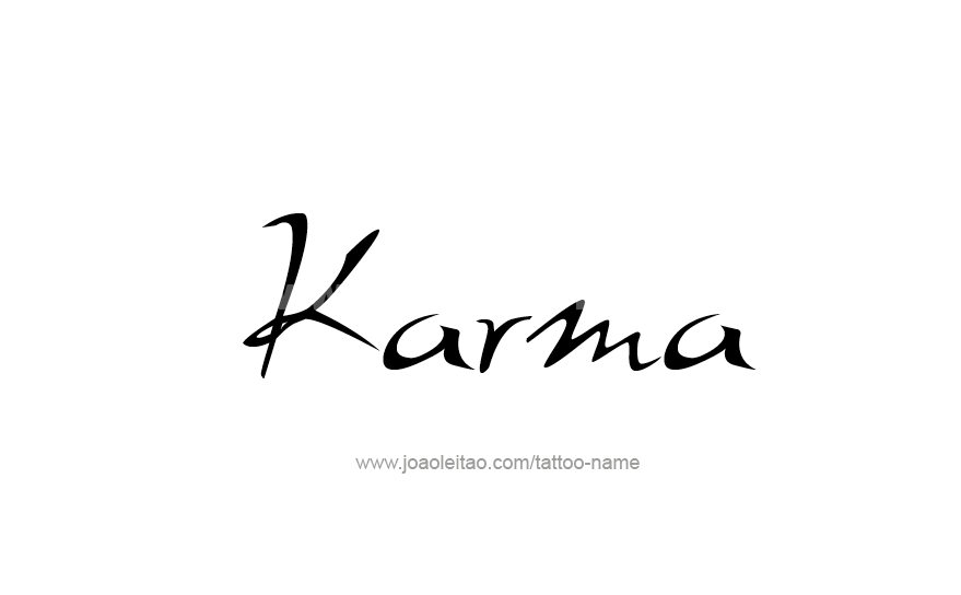 50 Ideas De Tatuajes De Karma Foto Y Significado Tattoos
