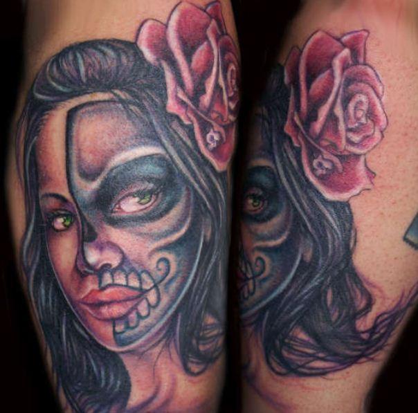 Calaveras De Mujer Tatuajes 123