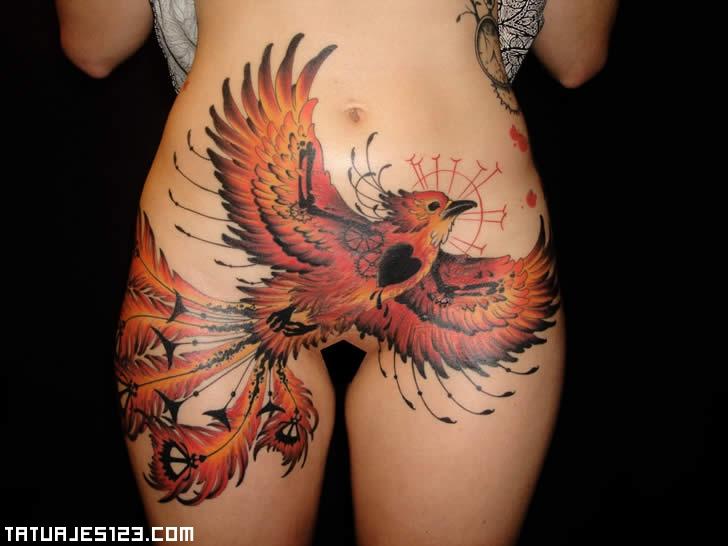 Aguila en el cuerpo  Tatuajes 123