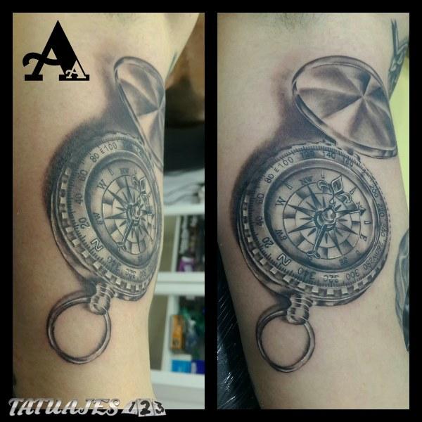 Brujula Rosa De Los Vientos Tatuajes 123