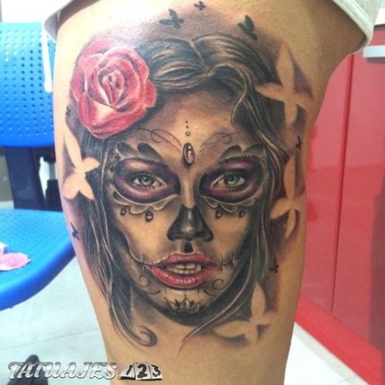 Catrina Tattoo Tatuajes 123