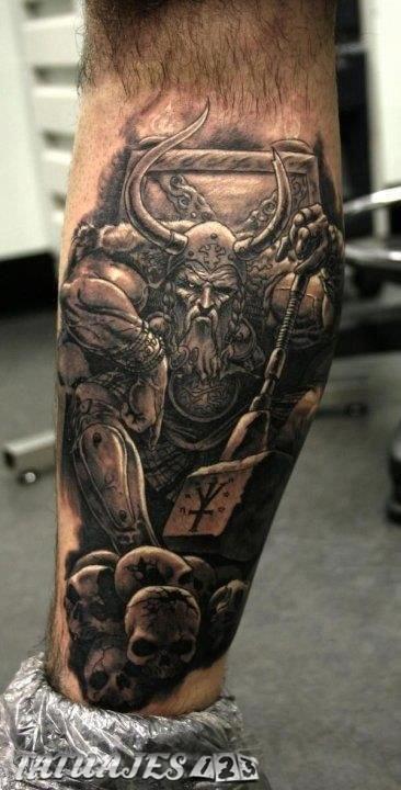 Significado De Tatuajes Vikingos Tatuajes 123