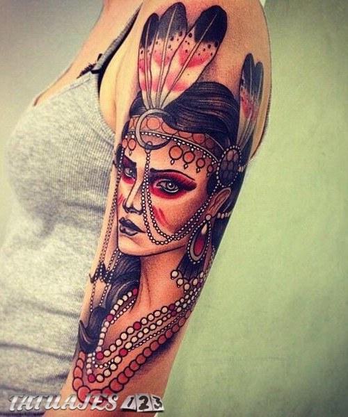 Tatuajes Indios Y Su Gran Significado Tatuajes 123