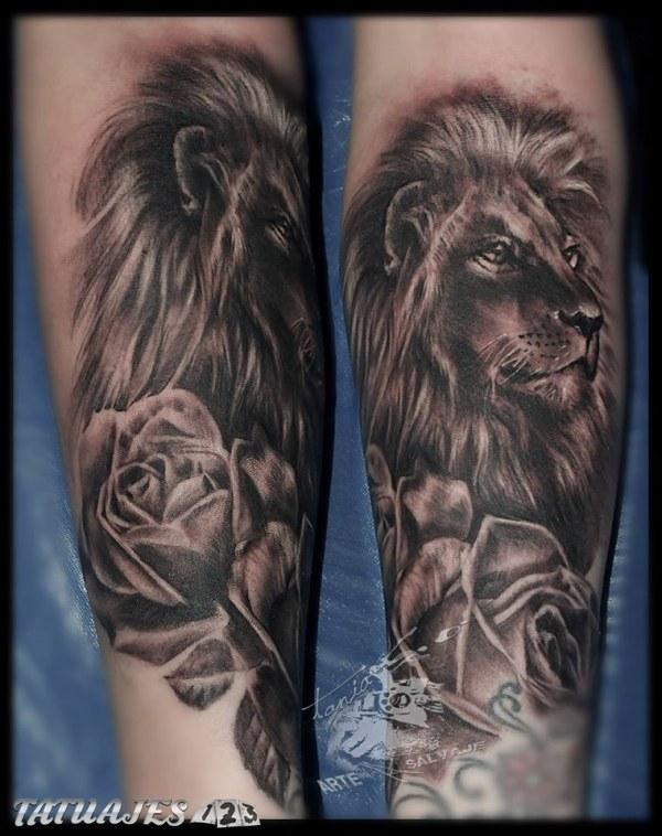 Leon Y Rosa Tatuajes 123
