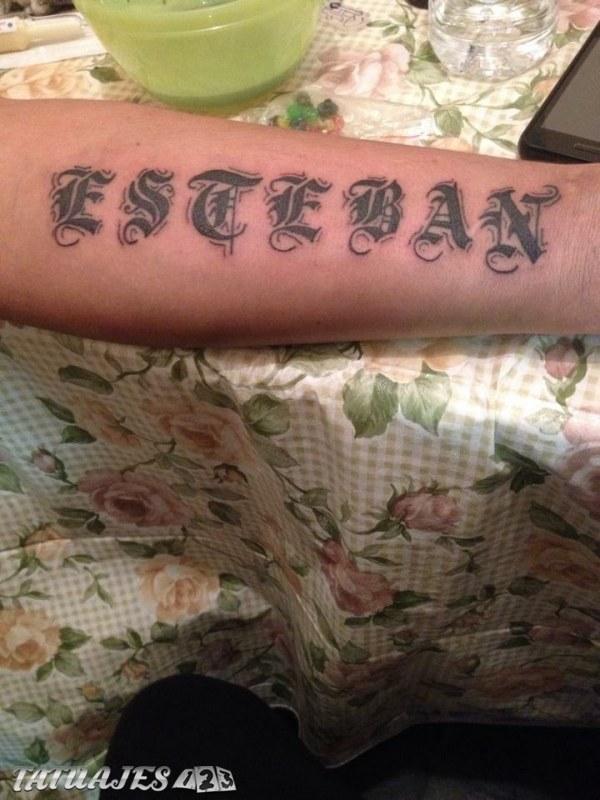 Nombre Con Letras Goticas Tatuajes 123