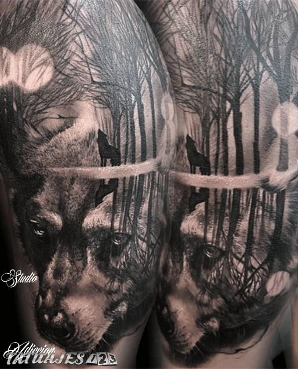 Familia De Lobos Tatuajes 123