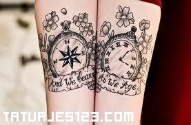 Tiempo De Reloj Tatuajes 123