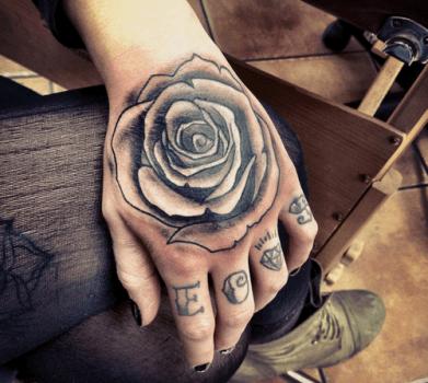Rosa Negra Tatuajes 123