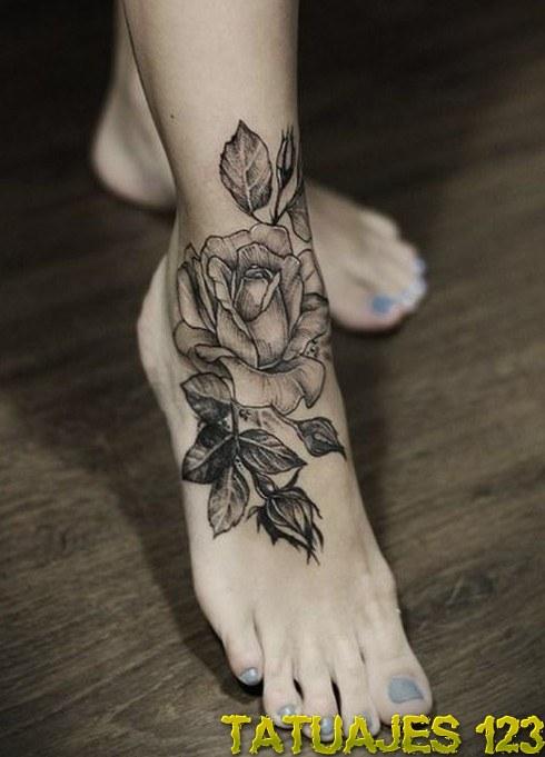 Tatuajes De Rosas Negras Tatuajes 123