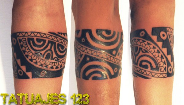 Brazalete Estilo Indio O Maya Tatuajes 123