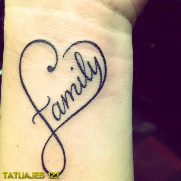 Tatuaje Corazón Familia Tatuajes 123
