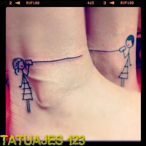 Tatuaje De Amor En Distancia Tatuajes 123