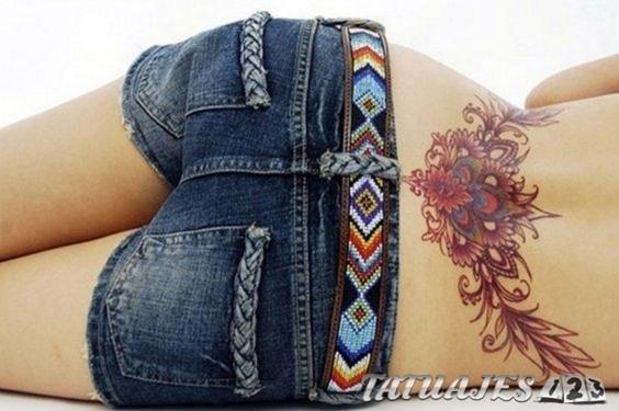 Te Gustan Los Tatuajes En La Zona Lumbar Tatuajes 123