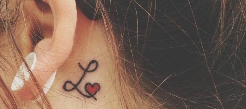 Tatuajes Detrás De La Oreja La Belleza En Dosis Pequeñas Tatuajes 123