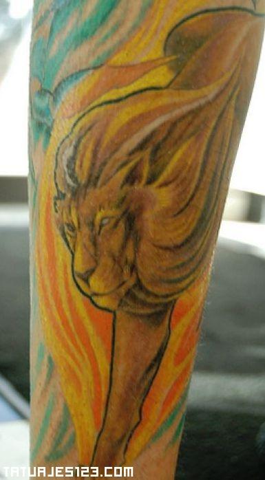 Signo Del Zodiaco Leo Tatuajes 123