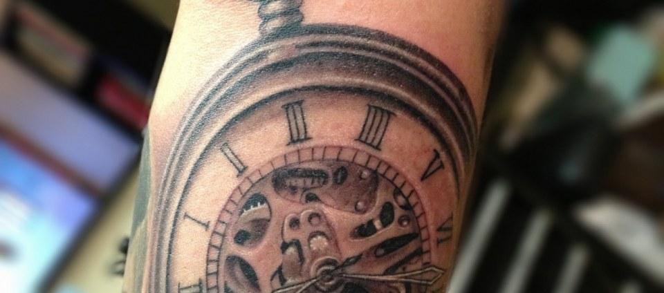 Tatuajes Con Relojes Antiguos Tatuajes 123