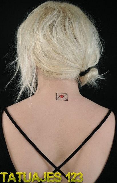 Una carta con mucho amor  Tatuajes 123