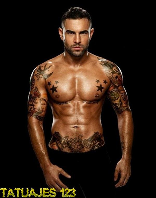 Tatuajes En Brazos Pecho Y Abdomen Tatuajes 123