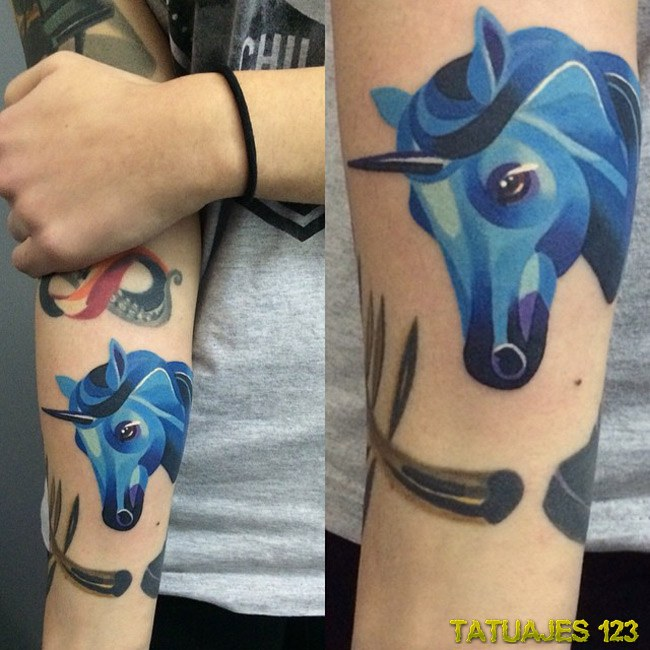 Significado De Tatuajes De Unicornios Tatuajes 123