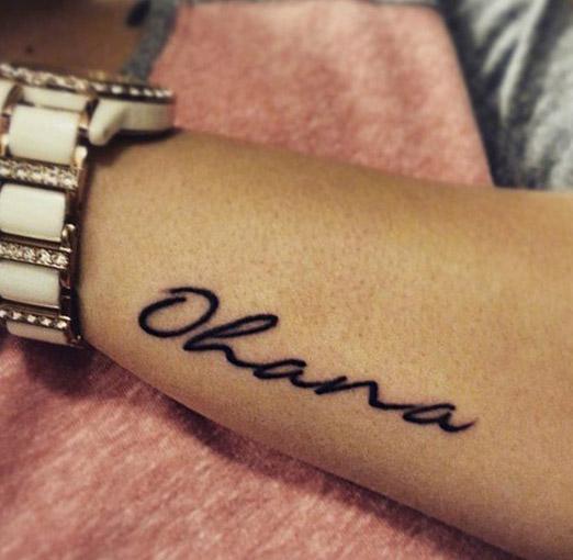 25 Originales Tatuajes De Ohana Con Gran Significado Tatuajes