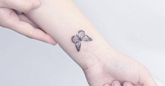 80 Originales Tatuajes De Mariposas Y Su Significado Tatuajes