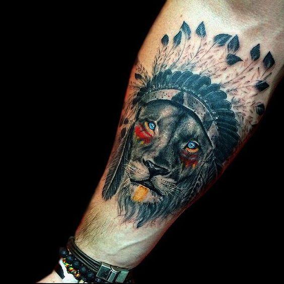 63 Geniales Tatuajes De Leones Y Sus Significados Top 2018