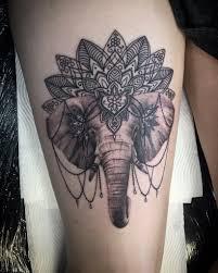 60 Originales Tatuajes De Elefantes Diseños Significadostop 2018