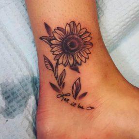 45 Ideas Para Tatuajes De Girasoles Y Sus Significados Tatuajes