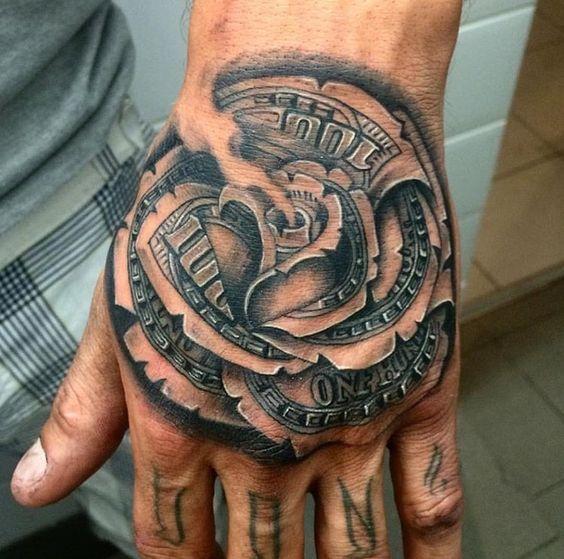 56 Ideas De Tatuajes En Las Manos Y Sus Significados Tatuajes