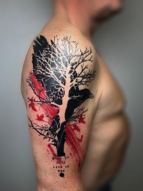 60 Ideas Para Tatuajes De árboles Diseños Significados