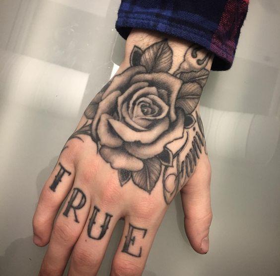 74 Ideas Inspiradoras Para Tatuajes En La Mano Significados