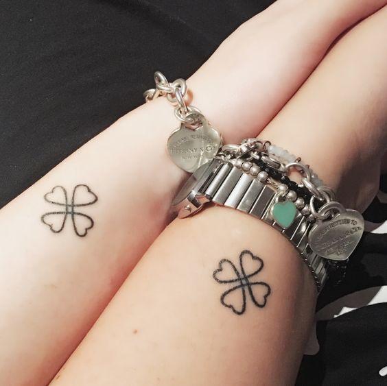 64 Ideas Originales De Tatuajes Para Amigas Y Sus Significados