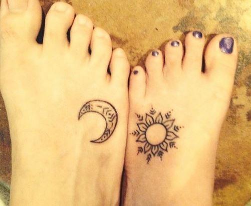 76 Tatuajes De Sol Y Luna Con Significados Tatuajes Geniales