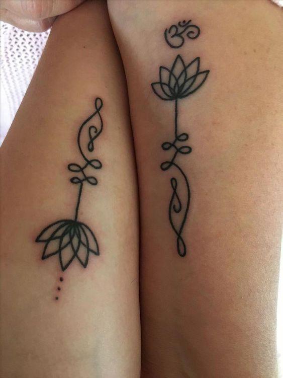 62 Diseños Para Tatuajes De Unalome Y Significados Tatuajes Geniales